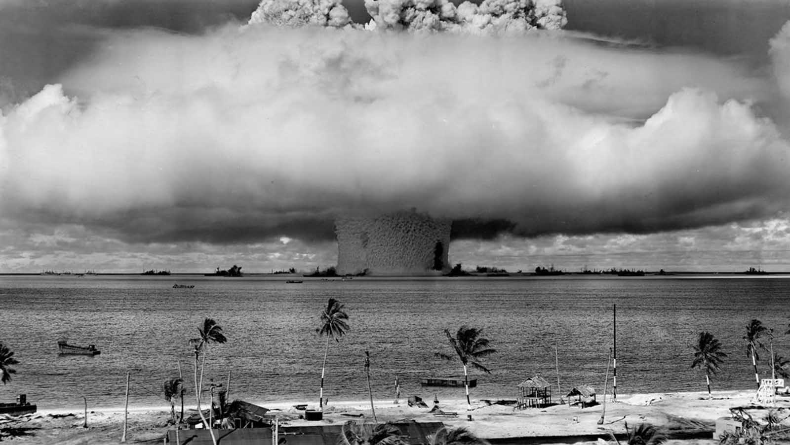 A test nuclear explosion codenamed