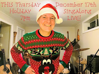 Join Jamie Barrett for a Holiday Singalong - Dec 17