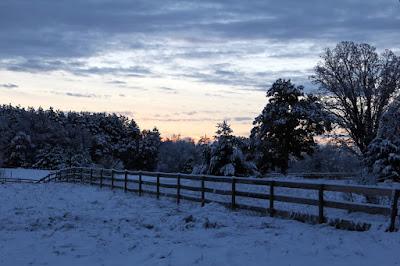 early November snow