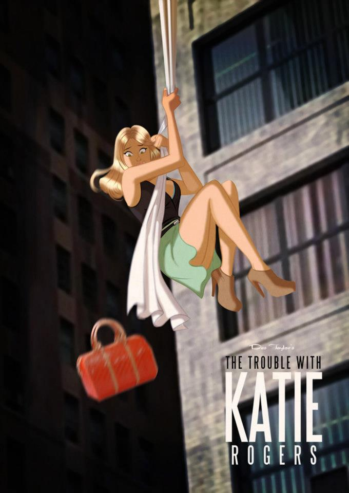 Katie Rogers By Des Taylor Despop Art Amp Comics