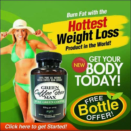 Green Coffee Bean Max Supplements And Free Bottle Offer