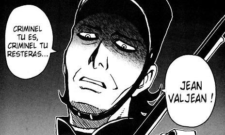 case Les Misérables de victor Hugo chez Soleil Manga