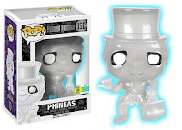 Pop! Disney: Haunted Mansion - Phineas (White Glow Glitter - 1000pc LE)