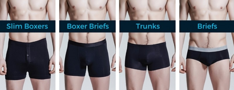 Kinds of boxers underwear