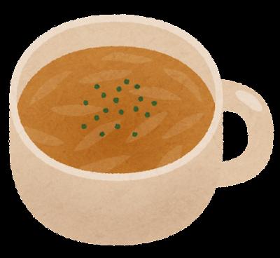 コンソメスープのイラスト