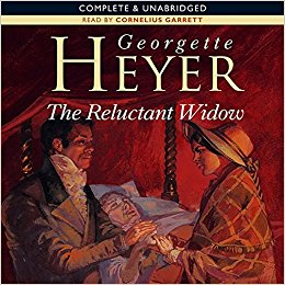 Audio Book Cover: The Reluctant Widow by Georgette Heyer