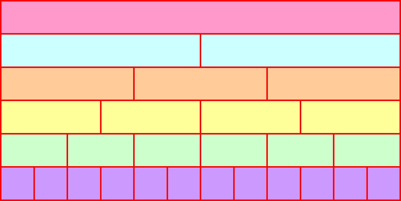 median don steward mathematics teaching fraction wall. Black Bedroom Furniture Sets. Home Design Ideas