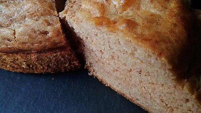 Bizcocho de trigo sarraceno sin azúcar