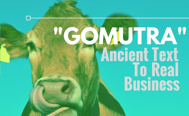 gomutra ancient text to real business article