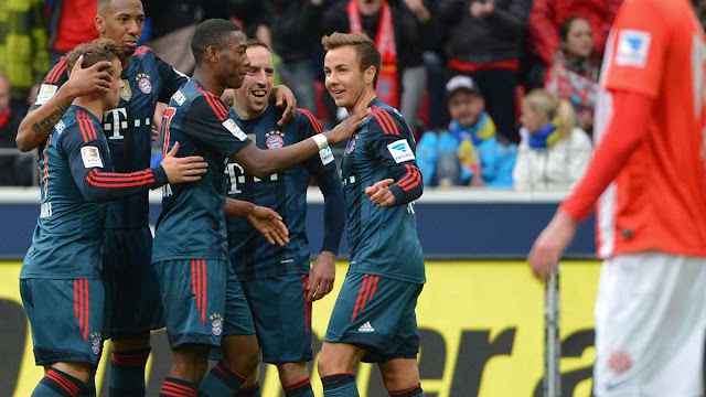 FSV Mainz vs Bayern Munchen