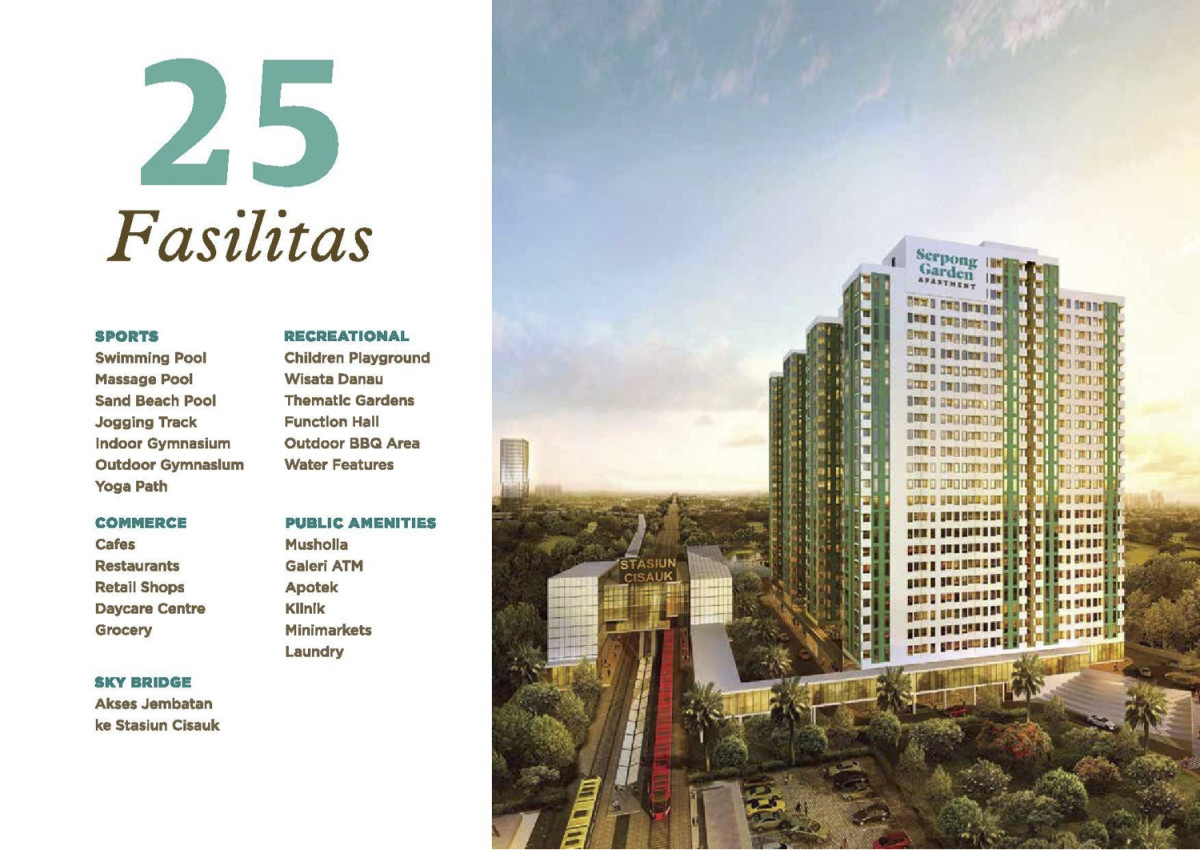 Apartment Berkonsep Transit Oriented Development