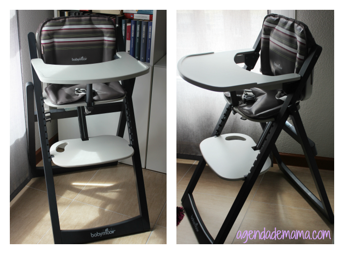 Trona plegable Light Wood de Babymoov