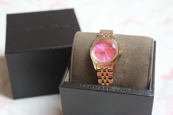 042ac9cccaafc Michael Kors MK3285    Lexington Rose Gold Watch