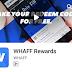 Cara mendapat duit dengan Aplikasi Whaff Rewards.
