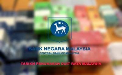 Tarikh Penukaran Duit Raya 2019 Malaysia