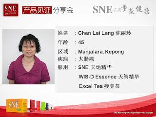 Kanker Kolorektal sembuh dengan mengkonsumsi Produk SNE Kapsul, Wis D dan Excel tea