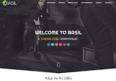 Basil Blogger Templates