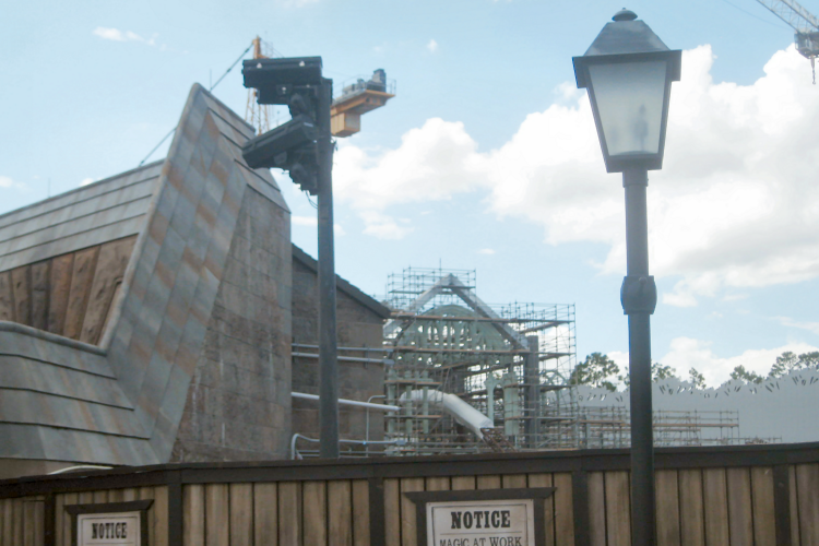Hogsmeade Village Construction