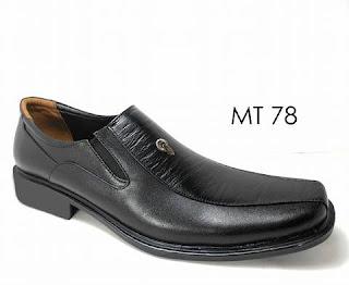 Sepatu Pantofel Pria Kulit Mokerto Tipe Panjang