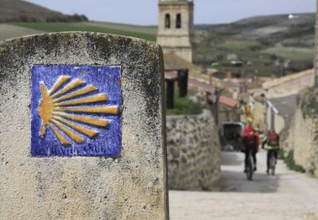 il simbolo del cammino di Santiago