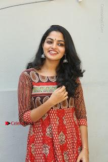 Telugu Actress Nikhila Vimal Latest Stills in Anarkali Dress  0015.JPG