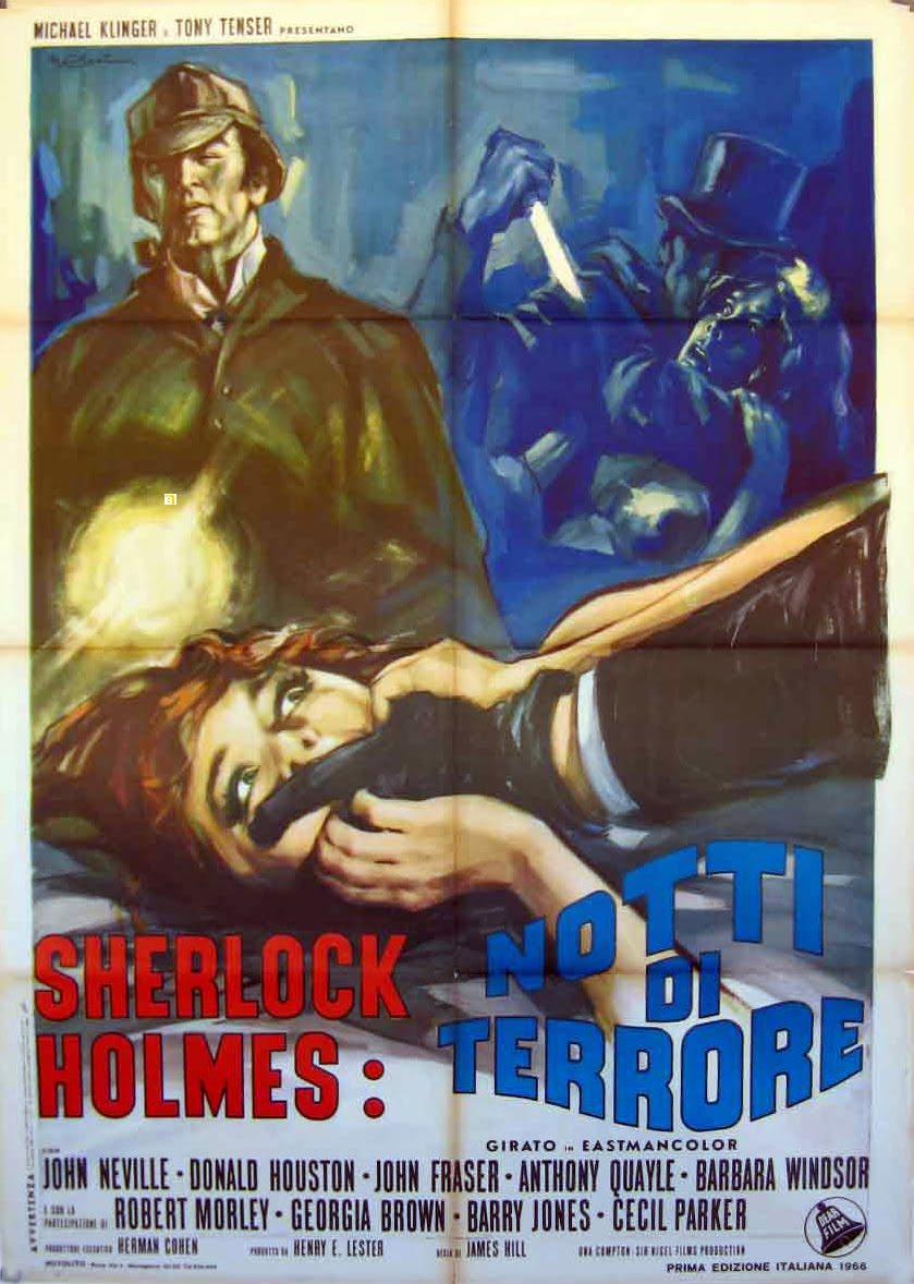 Estudio de terror. Sherlock Holmes, Jack el destripador