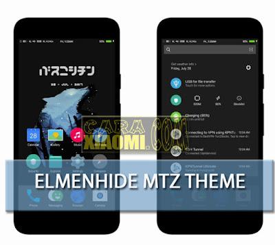 Elmenhide Theme Mtz For Xiaomi MIUI New Design