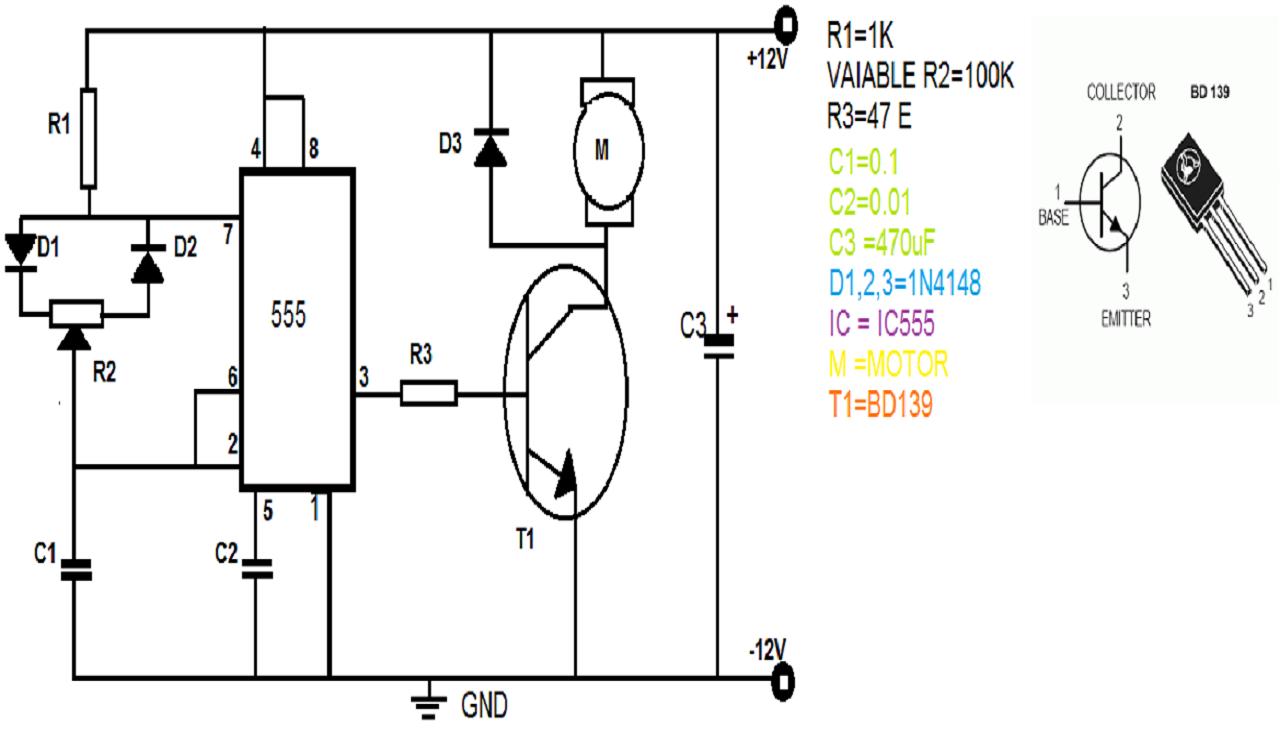 pwm fan controller circuit