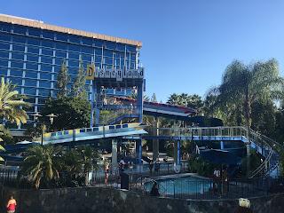 Disneyland Hotel Monorail Water Slides