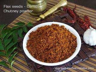 Agase - Bellulli chutney pudi recipe in Kannada