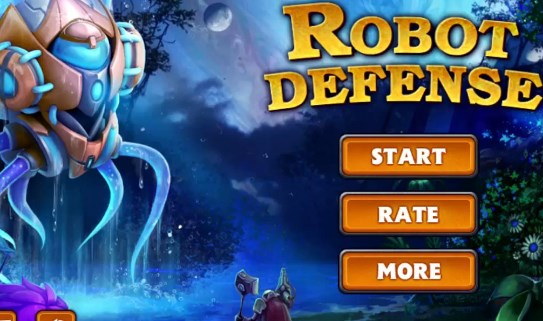 Robot defense Apk Free on Android Game Download