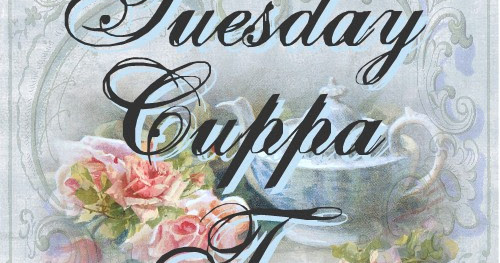 Tuesday Cuppa Tea Cross Stitch Tea and Special Days