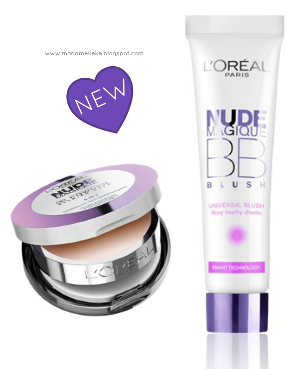 L´Oréal Nude Magique BB Powder and BB Blush - Beauty News