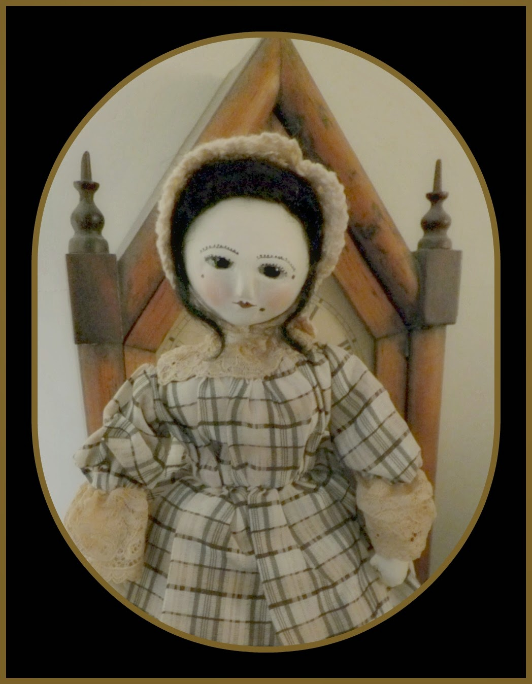 Queen Anne Cloth Doll
