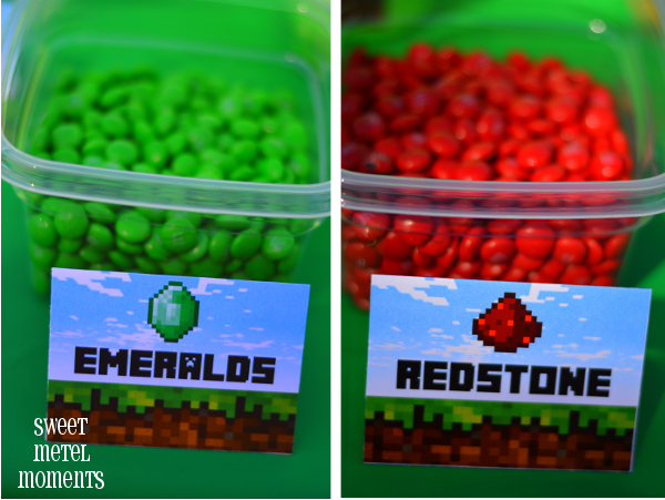 how to make your own minecraft food labels