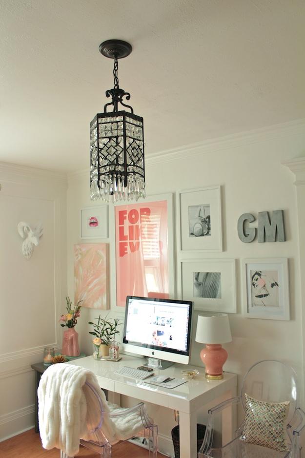 Um home office apaixonante