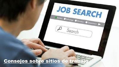 Consejos sobre sitios de trabajo en internet