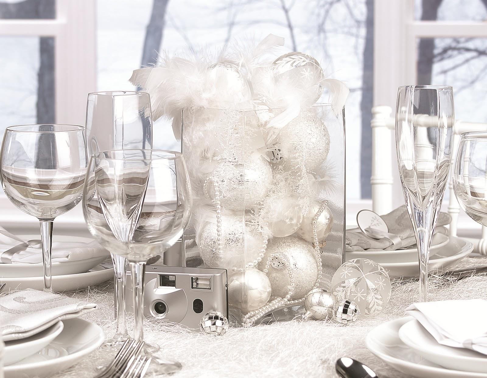 White Table Decoration Ideas - Elitflat