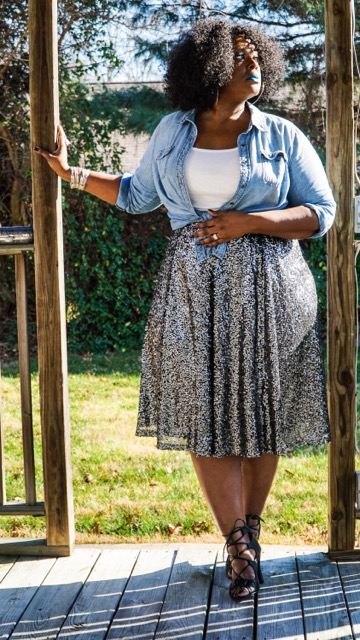 lane bryant, lane bryant midi skirt, lane bryant sequin midi skirt