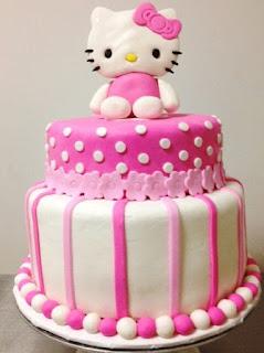 Gambar Kue Hello Kitty yang Lucu 7