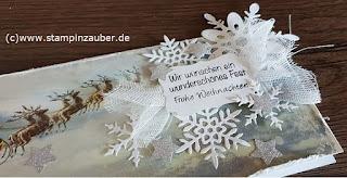 Weihnachtskarte von Silvi Provolija