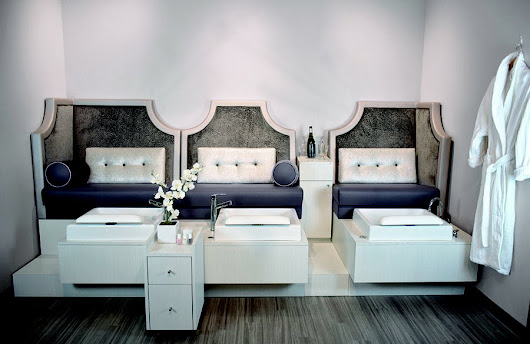 Style, Technology, & Comfort Collide: The Ultimate Pedicure Bench