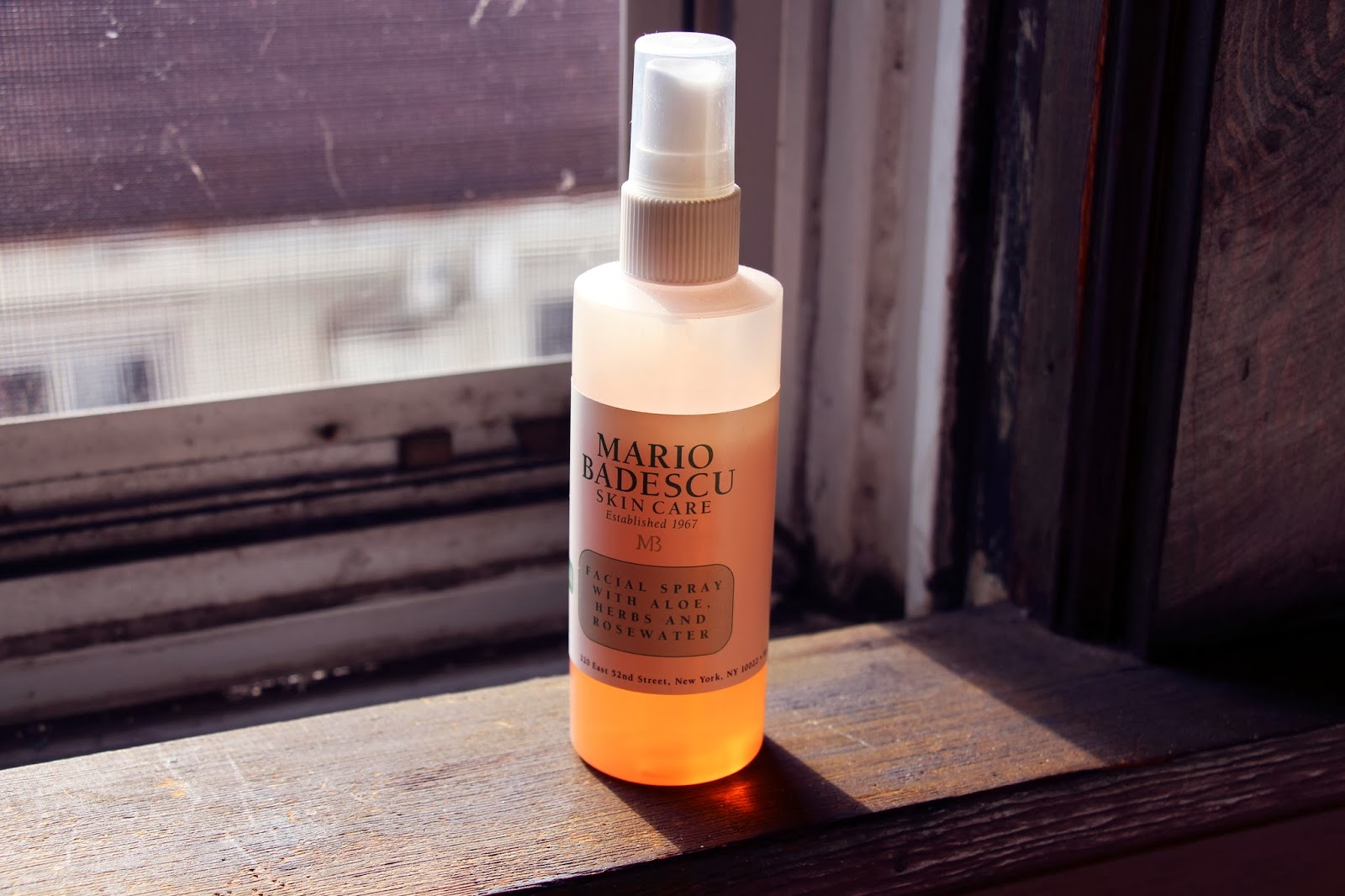 The Makeup Architect Review Mario Badescu Facial Spray