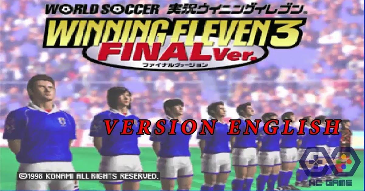 تحميل لعبة winning eleven 3 من ميديا فاير