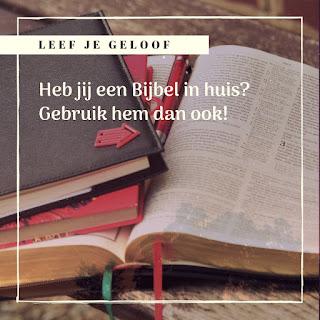 Leef je geloof, Hillie Snoeijer: Maak gebruik van Gods Woord