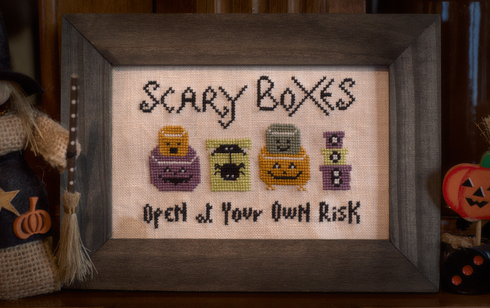 Scary Boxes