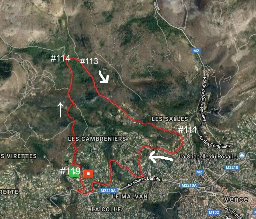 Circuit du Malvan GPS track