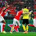 Com uma atuação enorme de Ederson, Benfica venceu o Dortmund na Luz