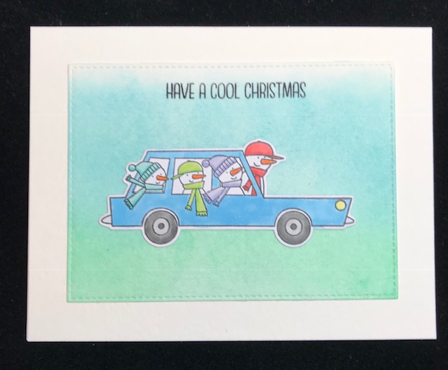 granny cats crafts cool christmas card