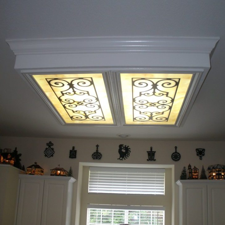 Awesome Fluorescent Light Covers For Kitchen